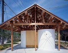 """I made a public toilet at Shodoshima Island as a part of the project of Setouchi Art Festival in which I came to participate from this time. The site is in the area called """"Hishio-no-sato (Native place of sauce)"""" where pre-modern architecture of soy sa..."""
