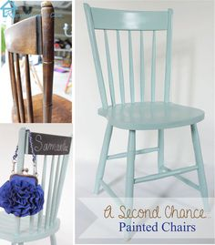 Painting chairs - a second chance makeover   Pretty Handy Girl