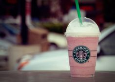 Strawberry and Creme Frappuccino from Starbucks #glutenfree