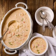 Easy, Elegant Lobster Bisque - use half and half, purée your own canned tomatoes with no salt, and use reduced sodium chicken stock YUMM! Lobster Recipes, Fish Recipes, Seafood Recipes, Soup Recipes, Great Recipes, Cooking Recipes, Favorite Recipes, Recipies, Lobster Bisque Recipe
