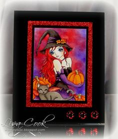 Red Halloween by busysewin - Cards and Paper Crafts at Splitcoaststampers