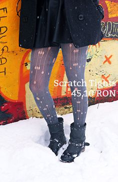 Scratch Tights Knee Boots, Tights, Shoes, Fashion, Navy Tights, Moda, Zapatos, Shoes Outlet, Fashion Styles