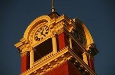 Clock Tower in Marshfield, WI