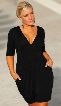 3eb09fd67b6a Villa Voluptuous Plus Size Sexy Dress Moda Per Ragazze Formose