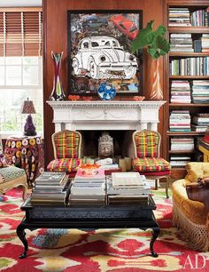 Sig Bergamin's Eclectic Home in Brazil : Interiors + Inspiration : Architectural Digest
