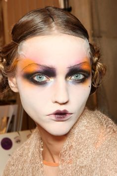 galliano / victorian ... love the makeup. What do you think? Too far?