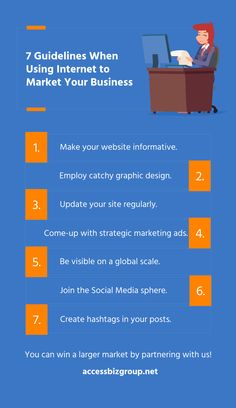 7 Guidelines When Using Internet to Market Your Business Internet, Social Media, Ads, Graphic Design, Marketing, Group, Business, Store, Social Networks
