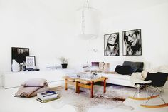 A swedish stylist's home