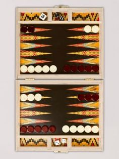 Flame Stitch Backgammon Board #goopget