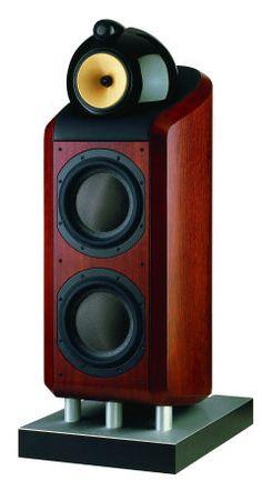 B&W speakers -- wow!