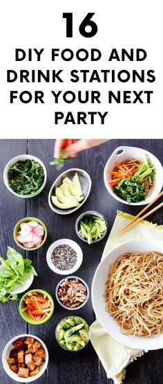 16 DIY Food and Drink Stations for Your Next Party