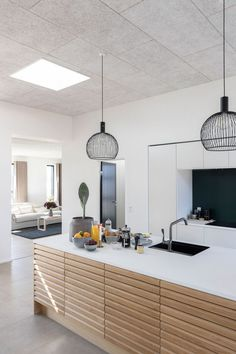 My Film: How To Invite More Natural Light Into Your Home (my scandinavian home) Kitchen Design, Kitchen Decor, Ikea, Blinds For Windows, Black Kitchens, Scandinavian Home, Natural Light, Light Colors, Things That Bounce