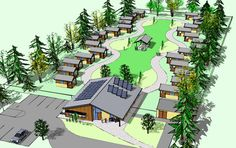 Tiny Houses for the Homeless: An Affordable Solution Catches On -A growing number of towns and cities have found a practical solution to homelessness through the construction of tiny-house villages—and housing officials are taking notice. -by Erika Lundahl / Posted Feb 20, 2014