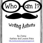 """Who Am I?"" - Great activity for back to school or open house"