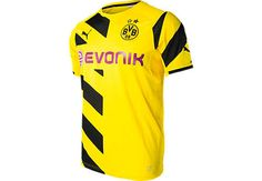 Puma Borussia Dortmund Home Jersey 2014-15...at SoccerPro now!