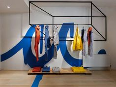 Infusion of geometrical shapes and color – store interior by +tongtong | dexignia