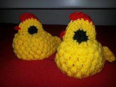 Háčkované velikonoce - slepička - how to crochet easter chicken, My Crafts and DIY Projects