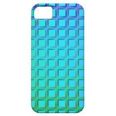#Blue #Turquoise and Green Squares Pattern #Iphone 5 Case $44.95