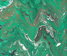 Paper Marbling (with people who know what they're doing!)
