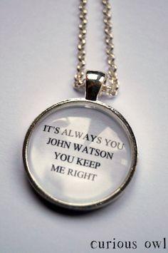 Always You   SHERLOCK SERIES 3  Sherlock by CuriousOwlDesign, £9.99