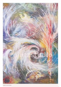 Abstract art print colour surreal print abstract by Paintzstudio