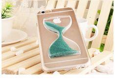 Turquoise Sand Clock iPhone Case