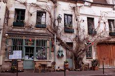Funky neighborhood in Paris. #travel France #traveling to France #Paris