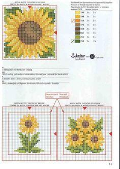 Cross-stitch Sunflowers...   Gallery.ru / Фото #26 - rico3 - vira-pagut