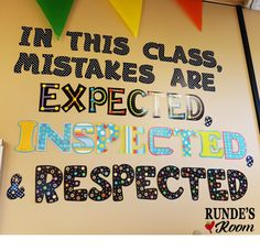 Growth Mindset in Math - Starting Math Class Right!
