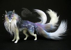 Cloud Kitsune Room Guardian: FOR AUCTION by AnyaBoz.deviantart.com on @DeviantArt