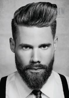 Beards and Hairstyles on Pinterest