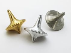 CNC-machined Spinning Top Inspired by Zen - eVolo | Architecture Magazine Zen Spinning Tops areprecision instruments machined out of aluminum brass and steel with unique concentric circles pattern for relaxing and meditation.Spinning tops are timeless toys often used for relaxation. Watching them spin could be a deep inner experience with your own thoughts. via Pocket IFTTT  Pocket  June 12 2016 at 03:42PM