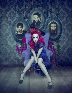 Natalie Shau, Cover art for Bad Pollyanna band