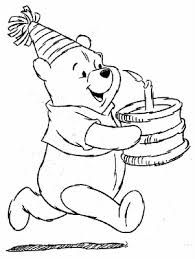 winnie the pooh birthday coloring pages - Google Search