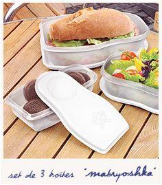 Lunchbox Matryoshka.