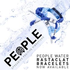 Spreading positive vibrations and ending the world water crisis together.  The new Rastaclat x People Water bracelets. Get one today at Peoplewater.com/shop#accessories
