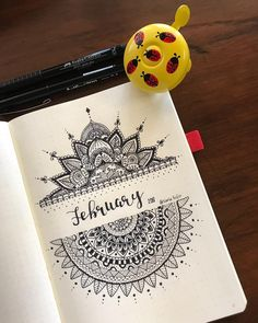 manala muster steine bemalen winterYou are in the right place about mandala design Here we offer you the most Mandala Doodle, Mandala Book, Mandala Art Lesson, Doodle Art Designs, Doodle Art Drawing, Mandala Artwork, Dark Art Drawings, Mandala Drawing, Pencil Art Drawings