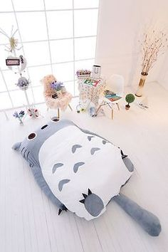 Totoro cartoon matelas de lit simple/double grande poire lounge haute qualité