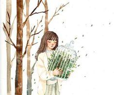 Imagem de art, draw, and illustration Art Patterns, Spring Time, Find Image, We Heart It, Korean, Draw, Illustration, Anime, Girls