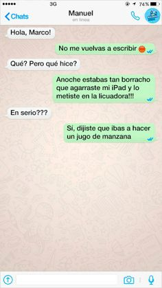 mensajes de texto en whatsapp - Funny Text - - mensajes de texto en whatsapp The post mensajes de texto en whatsapp appeared first on Gag Dad. Funny Sms, Stupid Funny Memes, 9gag Funny, Funny Stuff, Tumblr Love, Funny Tumblr Posts, Best Memes, Dankest Memes, Funny Texts From Parents