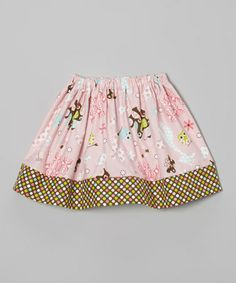 Love this Pink Polka Dot Owl Skirt - Infant, Toddler & Girls by Heavenly Things for Angels on Earth on #zulily! #zulilyfinds