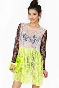 Frances Lace Dress by #CheapMonday