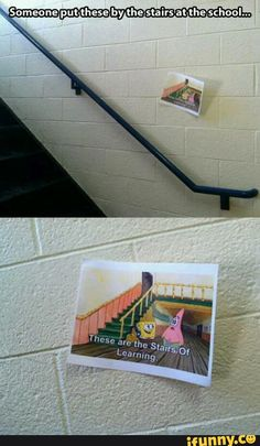 stairs, learning