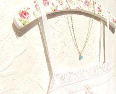 Mini rose necklace $22.00 ~ http://www.etsy.com/listing/85595968/le-petit-bloom-flower-necklace-16k-gold