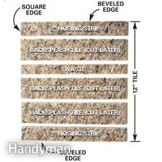Granite  tile gives you the appearance of a solid-stone slab at one-third the cost.  We'll show you the techniques for a first-rate job.