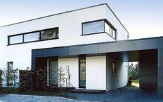 Stadthaus mit Carport - New Ideas Warehouse Living, Garage Furniture, Carport Garage, Architecture Magazines, Garage Design, Apartment Interior, Modern House Design, Future House, New Homes