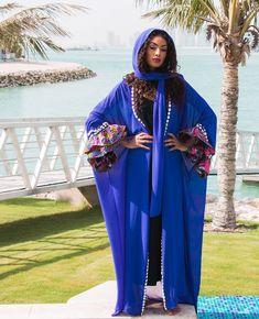 Warda Abaya (Zaffre Blue) (SOLD OUT)