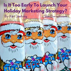 Not sure when your holiday marketing should begin? Discover the answer plus 4 ways to optimize your holiday season for your business!
