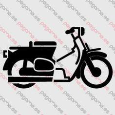 Pegame.es Online Decals Shop  #motorbike #transport #wheels #vinyl #sticker #pegatina #vinilo #stencil #decal