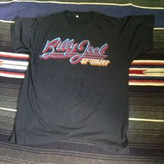 ORIGINAL VINTAGE BILLY JOEL Shirt #GraphicTee